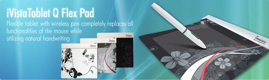 Q Pad Flex Graphic Media Tablet by iVistaTablet